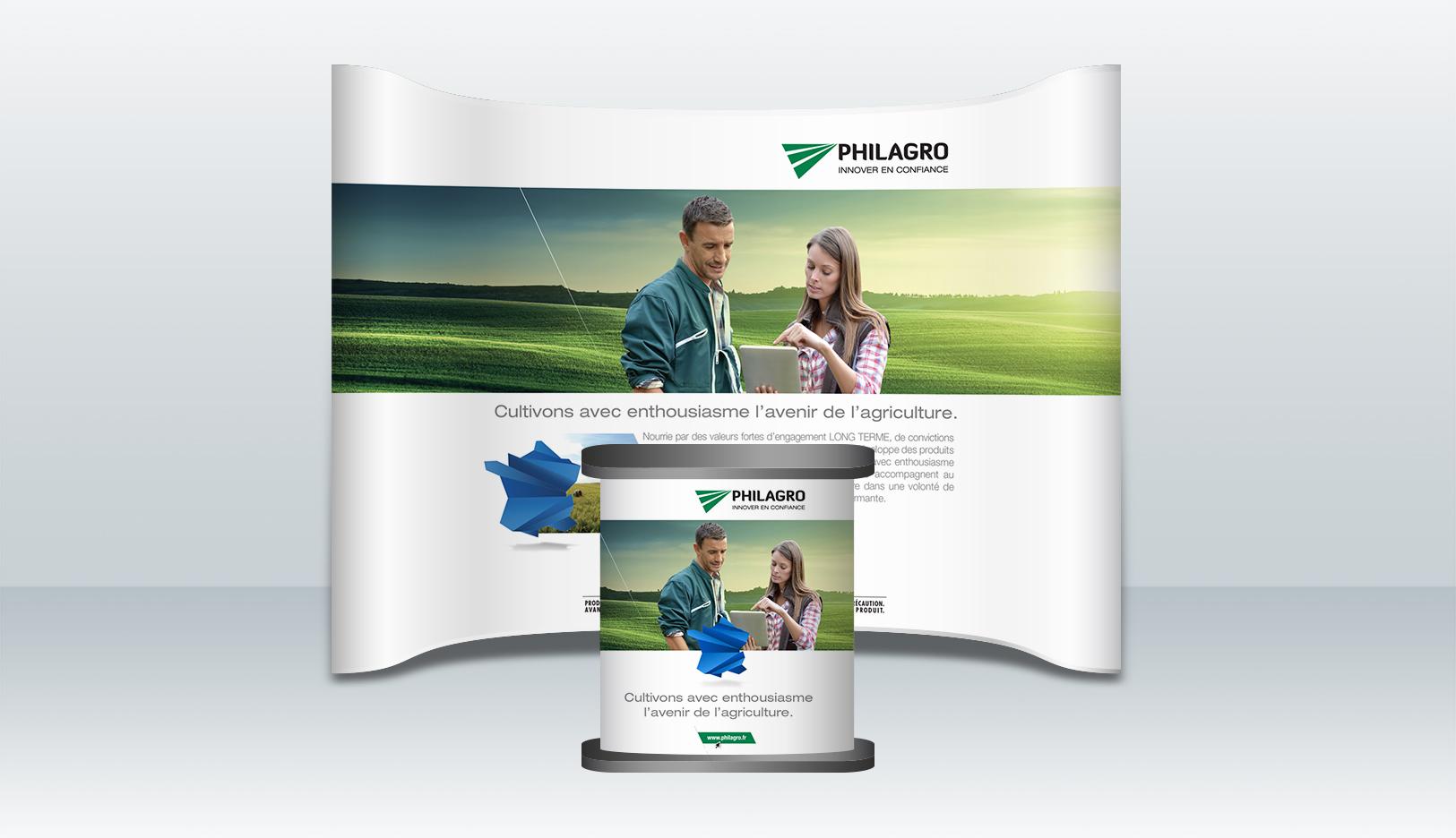 Philagro-stand